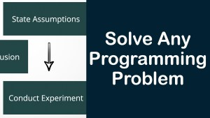 How to Solve Any Programming Problem?