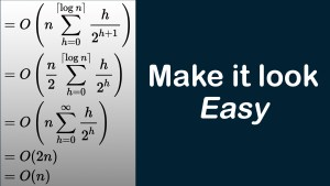 Make it look easy – Complex Algorithms