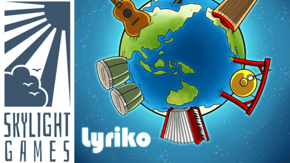 Lyriko, a musical language game