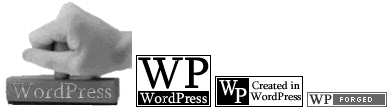 WordPress Logo Buttons