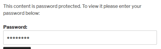 Password-protected Content