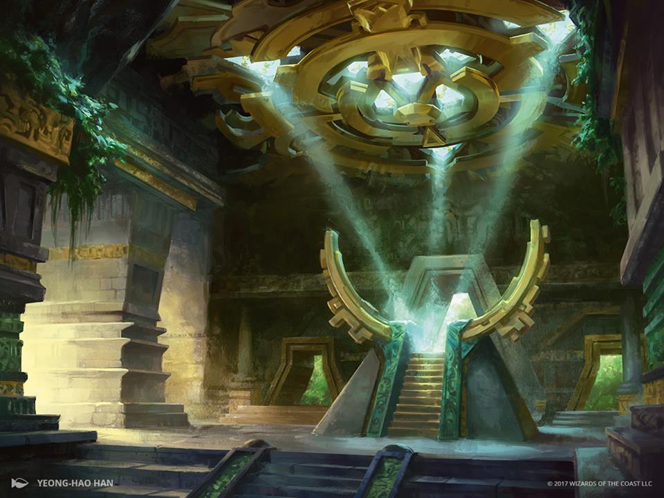Sanctum-of-the-Sun-Rivals-of-Ixalan-MtG-Art