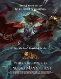Codex Anathema - Pirates of the Lhazaar Sea (2) Undead Man's Chest