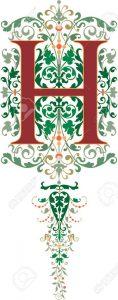 alphabet (h)
