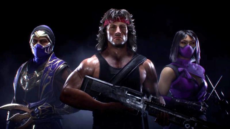 Nuevos pj Mortal Kombat 11