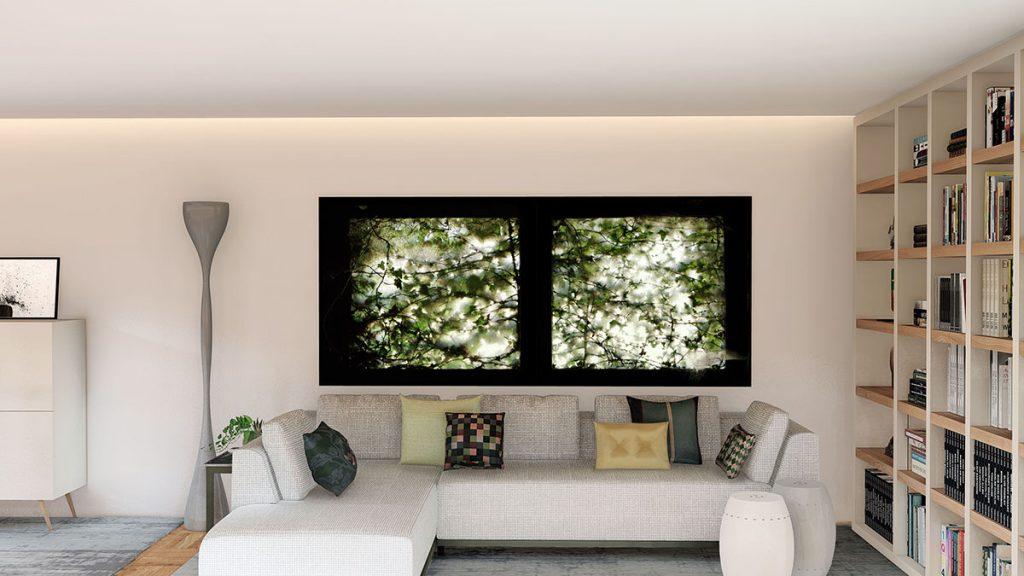 Projeto de Design de Interiores num apartamento em Braga (Portugal), sala de estar