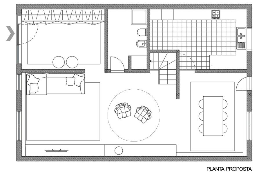 Planta proposta arquitetura design de interiores remodelação porto projeto de interiores intervenção architecture interior design remodeling port interior design intervention