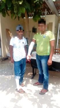 Heridos de bala, Sn Dionisio marzo 30, 2018