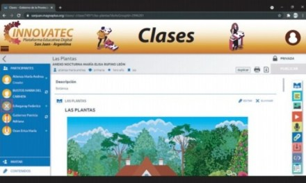 Educación habilitó una nueva plataforma digital para la continuidad de las trayectorias educativas virtuales