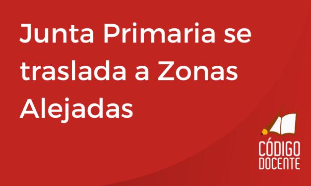 Junta Primaria se traslada a Zonas Alejadas para notificar Puntaje de Ingreso a la Docencia e Interinatos y Suplencias 2022