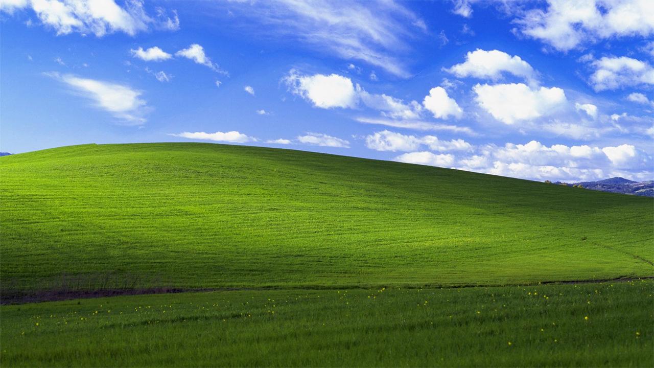 Fomndo de pantalla más famoso de Windows XP