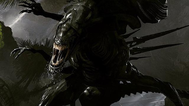 Revelan arte conceptual de una película de Alien que nunca se realizó
