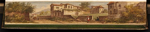 Casa de Petrarca en Arqua, en Odas y sonetos de Francesco Petrarca