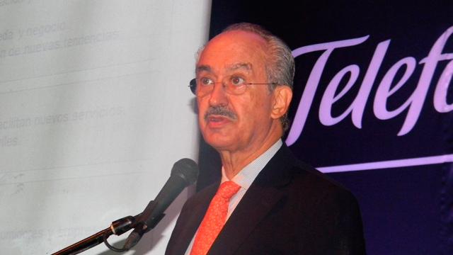 Francisco Gil Díaz, presidente de Telefónica México