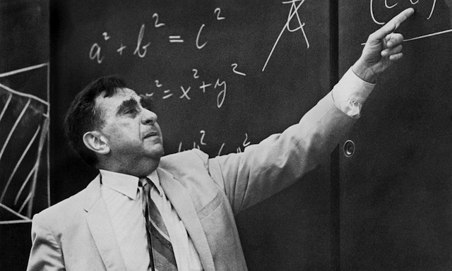 Edward Teller at Stanford University, 1968