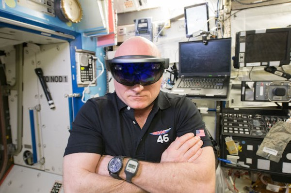 scott kelly hololens