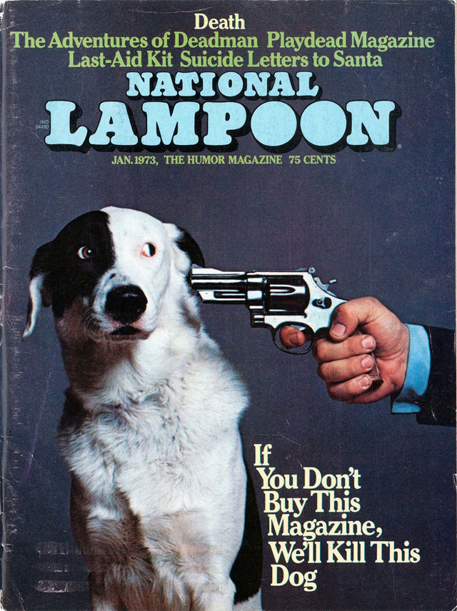 La portada más famosa de National Lampoon