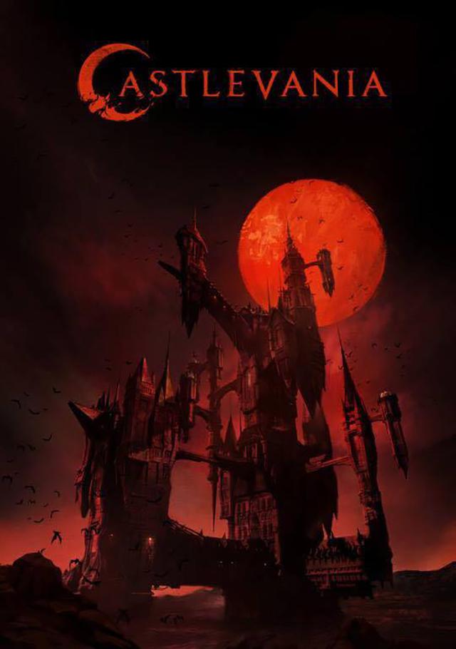 La primera imagen oficial de la serie de Castlevania