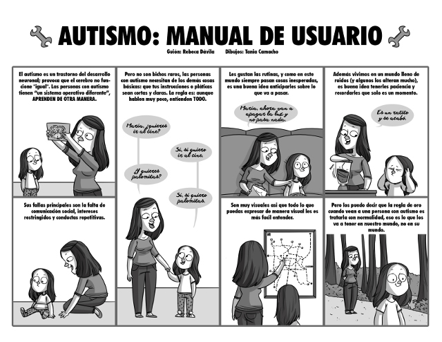 Autismo Comic Tania Camacho
