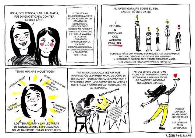 autismo comic Alejandra Espino
