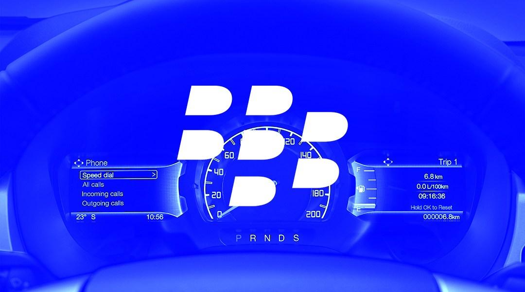 BlackBerry mejorará el software de los coches de Ford