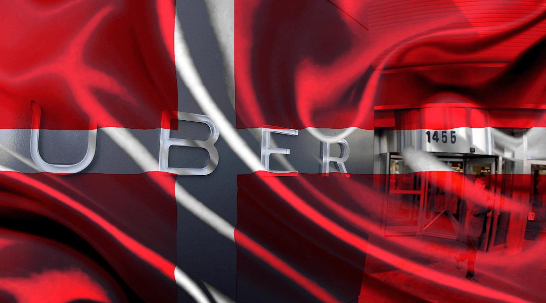 Uber dejará Dinamarca en abril por desacuerdos con la ley