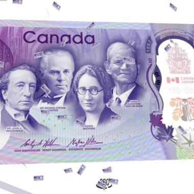 El banco de Canadá hace un homenaje al código Konami con su nuevo billete
