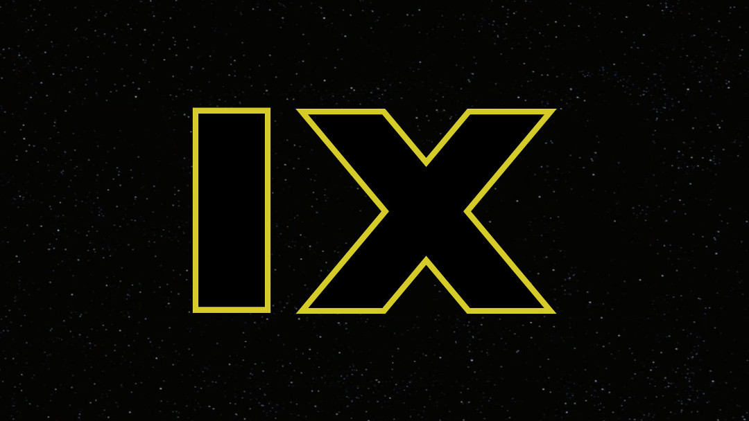 El logo de Star Wars Episodio IX