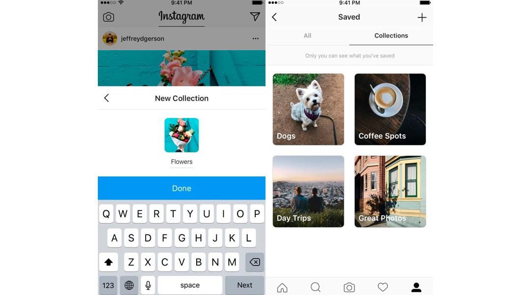 Instagram ahora se parece a Pinterest y puedes crear colecciones de tus fotos favoritas