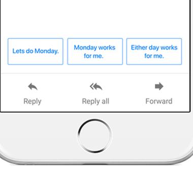 Gmail nos hará la vida más fácil con sus nuevas Respuestas inteligentes