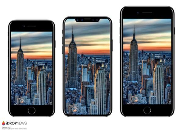 Un nuevo rumor sobre el iPhone 8 afirma que el teléfono será más grande que su antecesor