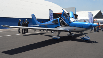 Estos son los Pegasus, dos aviones hechos con tecnología mexicana por la empresa Oaxaca Aerospace