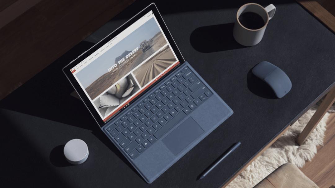 La nueva Surface Pro de Microsoft viene con una batería más duradera y procesadores más potentes