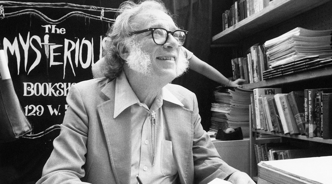 Isaac Asimov, autor de la trilogía de Fundación