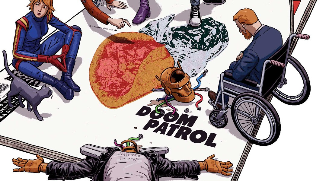 Doom Patrol Gerard Way Official Playlist_2 en Spotify