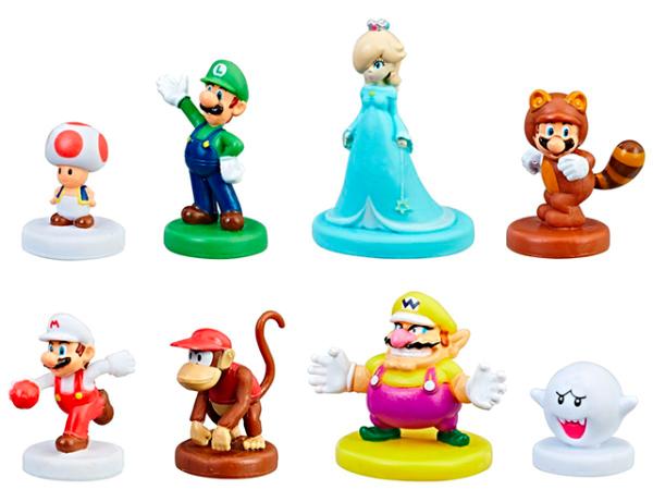 Las figuras del nuevo Monopoly Gamer de Super Mario
