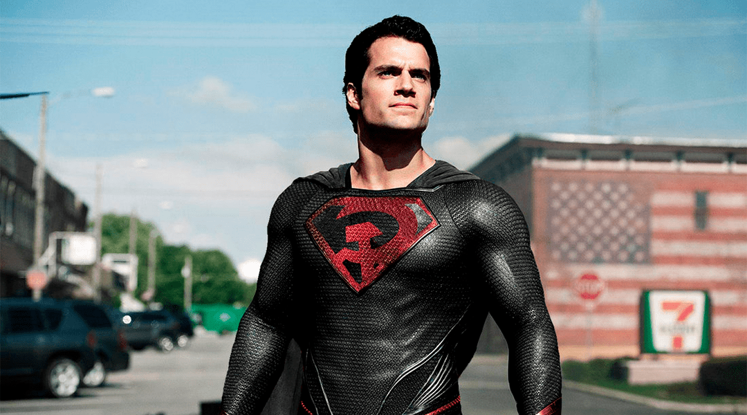 red son superman interpretado por Henry Cavill