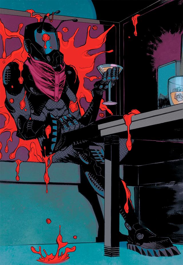 Uno de los  grandes villanos de Ant Man