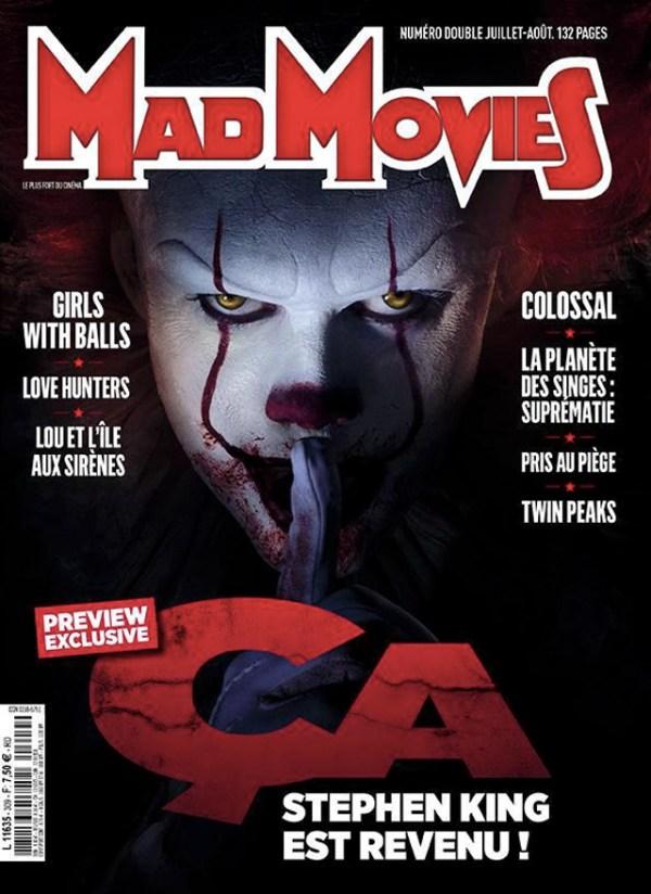 La portada de Mad Movies con Pennywise
