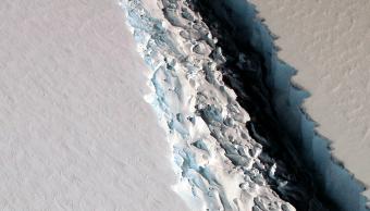 El bloque de hielo Larsen C