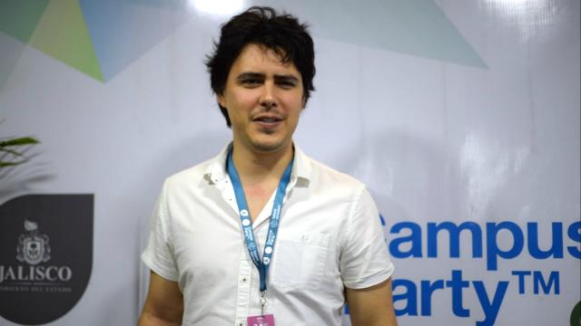 Jordi Muñoz habló en una rueda de prensa en Campus Party México 2017