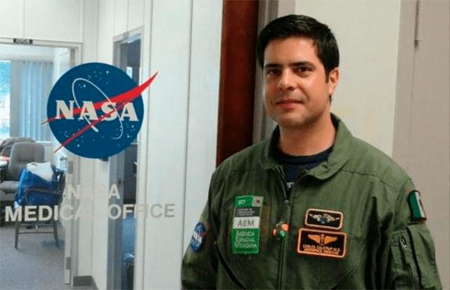 El médico de la UNAM en la NASA