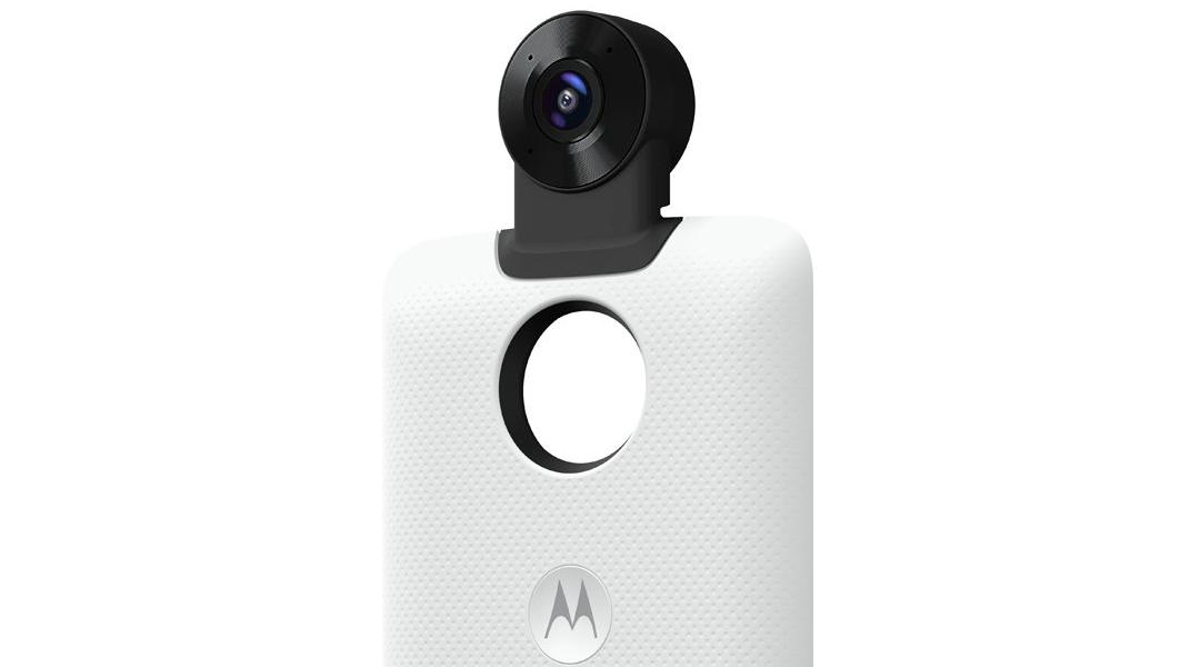 Motorola presenta su nueva cámara 360° para sus teléfonos modulares