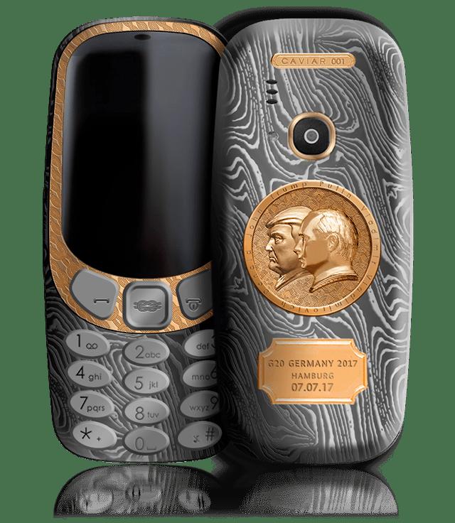 Este teléfono Nokia celebra la reunión entre Trump y Putin