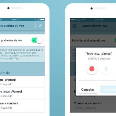 Las instrucciones de voz personalizadas de Waze ya están disponibles iOS