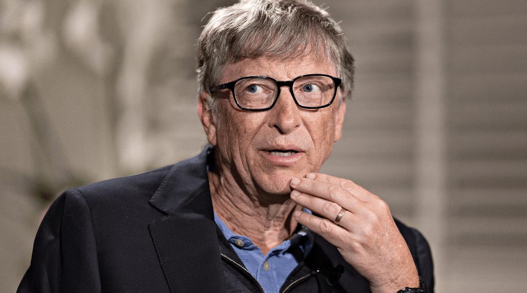 Bill Gates, fundador de Microsoft, es el hombre más rico del mundo.
