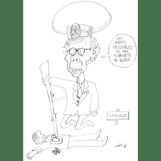 Diaz Ordaz dibujado por Rius