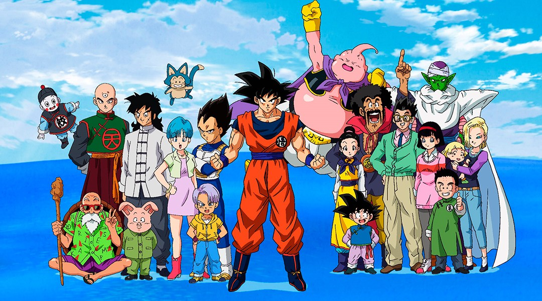 Personajes del anime Dragon Ball Super