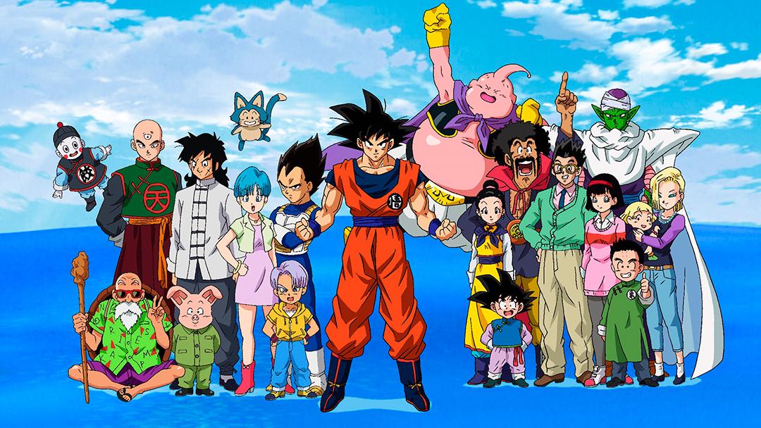 Personajes del anime Dragon Ball Super