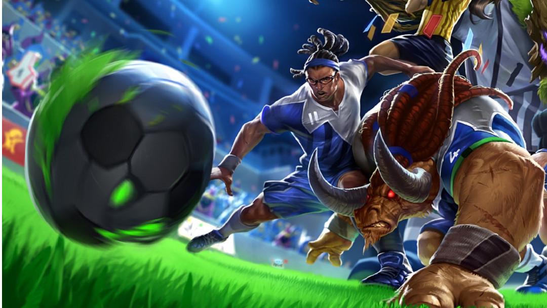 Striker Lucian de League of Legends